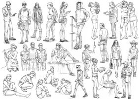 Figure drawing by AncientKing