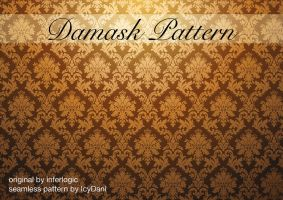 Damask Pattern Seamless by IcyDani