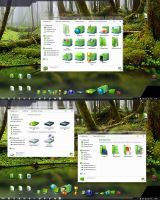 Green Memory IconPack by alexgal23