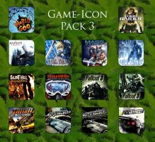 Game aicon pack 3 by HarryBana