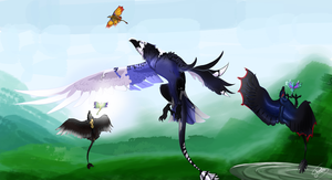 Hunt on the misty mountains by ChaokiEvery