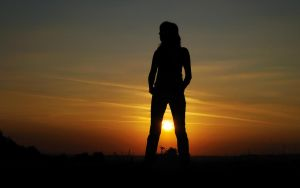 Sunrise Silhouette by hquer