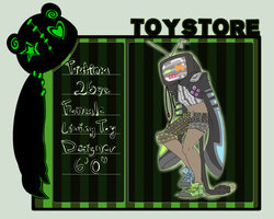 Toy Store Application by Kuromitu