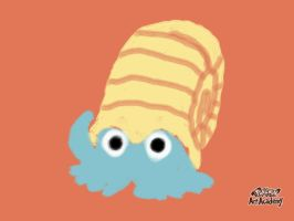 Omanyte Quick Sketch by Maizox