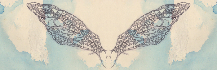 unfinished dragonfly wings by ang3ll