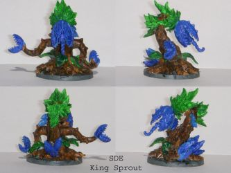 Super Dungeon Explore king Sprout by Salaura