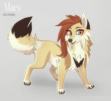 Maey reference by MaeyWox