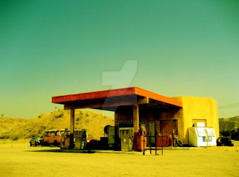 Last Stop for Gas 1 by wayworth