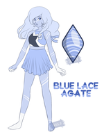 [CAAQ3.1] Blue Lace Agate by Shade-Arts