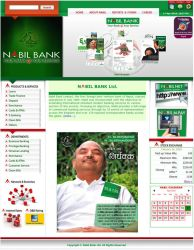 Website for a Bank. by anup756