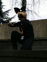 Sakuracon 2016: Cat Noir Cosplay-Ready to Go! by SOULREAPER-AngelGirl