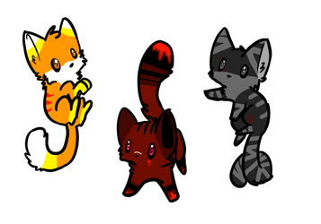 halloween adopts ~Closed~ by Phed-adopts