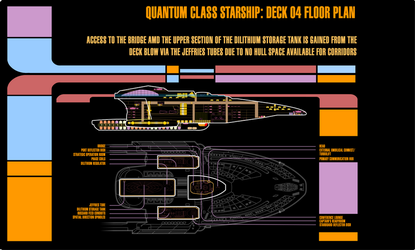 LCARS DECK PLAN DECK 4 USS SWIFTWIND by S0LARBABY