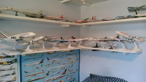 MY AIRLINERS COLLECTION 1/200 ZONE by victordragon747