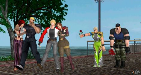 1st DLC PACK  kof 14 by ChrisTalyus