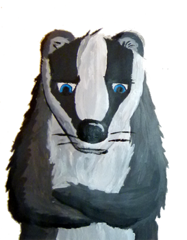 My favourite badger. by ComradeK