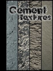Cement Textures Pack by IloveMuffin-Stock