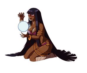 Alesha The Mystic by hollowmask