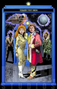 Doctor Who - The 6th Doctor by GerryKissell