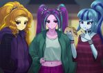 Dazzlings by Agavoides