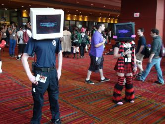 Object Heads @ ConnectiCon 2014 by xcmer