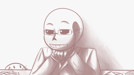 Sans n' Glasses by DeadIshael