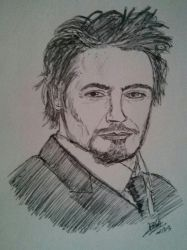 Robert Downey Jr by LoiseFenollCreation