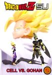 Cell vs Gohan Part 2 - Cover by SUnicron