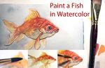 Art Tutorial: Paint a Fish in Watercolor by taho