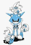 Inktober : Metal and Silver Sonics by ThePandamis
