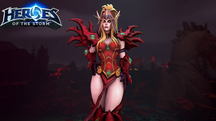 Valeera - Heroes Of The Storm by Deadpoolbutt