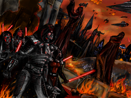 Deceived_Coruscant Burn by anne-wild