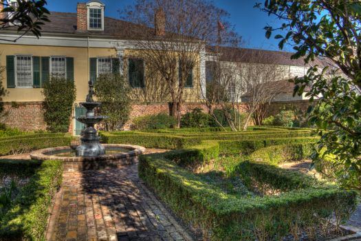 New Orleans Courtyard by rael87a