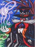 Sonic Halloween - Dark Gothic Eggman by AceOfSpeed94