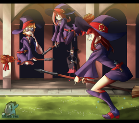Little Witch Academia TIA FREYRE by IzharDraws