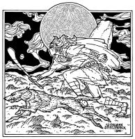 Cu Chulainn. Celtic Irish Fantasy art. by jimfitzpatrick
