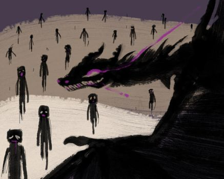 And The Ender Dragon Will Lead Them by Malliya