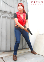 Go for it! - Claire Redfield cosplay RE CVX by CodeClaire