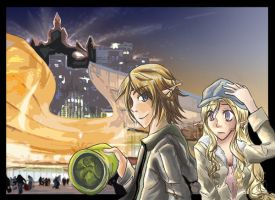 Zelink - A Walk in the City by WingJourneys