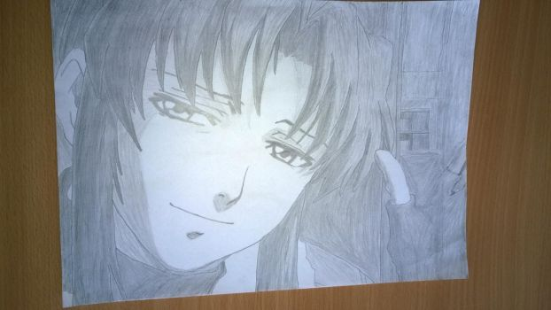 Revy from Black Lagoon Drawing #4 by Fil13