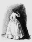 Sketch of a Victorian Girl by olde-fashioned