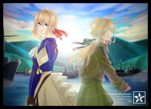Violet Evergarden - Time heals all sorrows by earthfairys