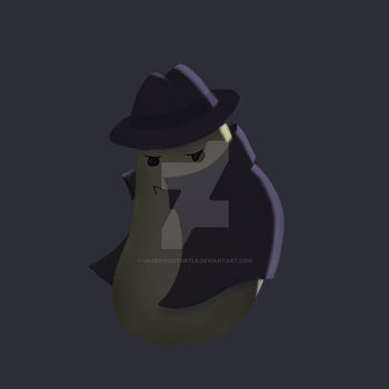 Potato detective by UnseriousTurtle