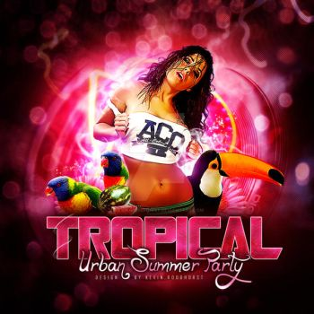 Tropical Flyer By Kevin.r by Kevin-Roodhorst