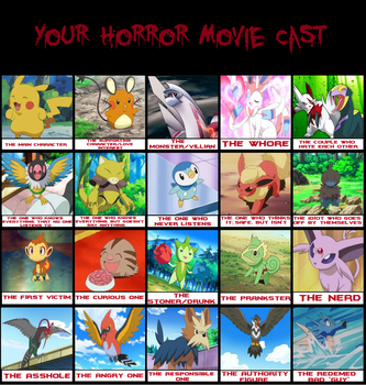 Pokemon Horror Movie by birdietalk