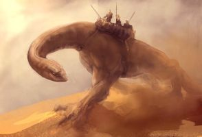 Dune walker by mattforsyth