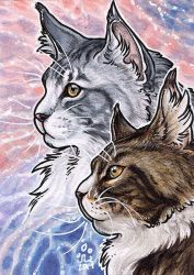 ACEO - Indy and Kraken by BloodhoundOmega