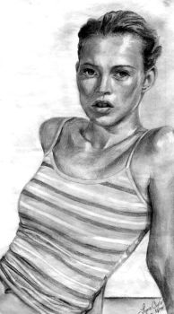 Kate Moss by 0men