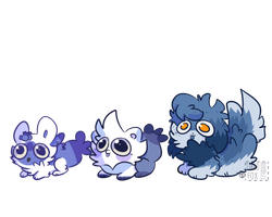 Blue Puff Squad by puffross