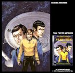 STAR TREK-TOS v1 - LE COVER by DreamworldStudio